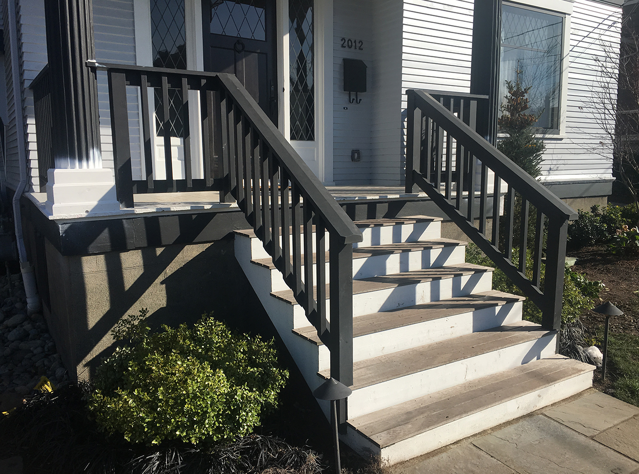 Queen Anne Historic Front Porch Post Plinth Replacement