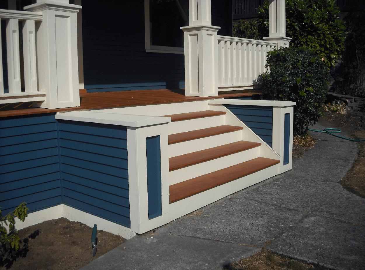 Queen Anne Historic Front Porch Period Replication